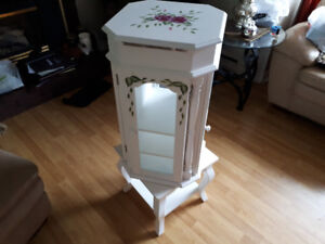 Solid Wood jewellry ARMOIRE