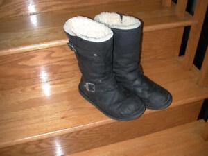 Bottes d'hiver UGG en cuire