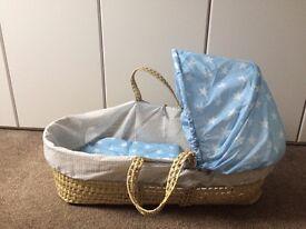 Moses basket / cot / crib