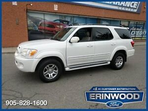 2006 Toyota Sequoia Limited4WD / 7 PASS / ROOF / LTHR / ALLOYS