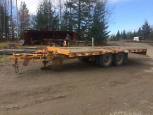 1994 trail king tkt40 tilt trailer