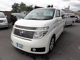 2003 Nissan Elgrand HIGHWAY STAR SUNROOFS LEATHER 3.5 5dr
