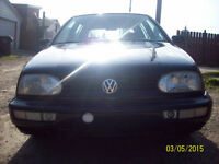 1999 Volkswagen Golf 5 doors Hatchback