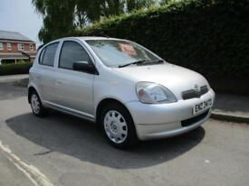 2003 TOYOTA YARIS 1.0 VVTI 5 DR COLOUR COLLECTION SILVER