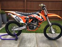 Ktm sxf 450 2015 immaculate Condition road registered