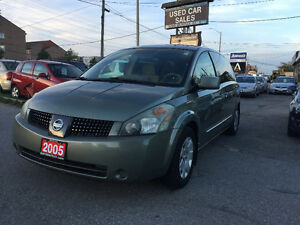 *CERTIFIED*2YRS WARRANTY*2005 Nissan Quest S Minivan, Van, DVD