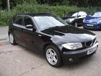 2006 BMW 118d 2.0TD Sport 5 Door Black Full Service History SUPERB THROUGHOUT!!!