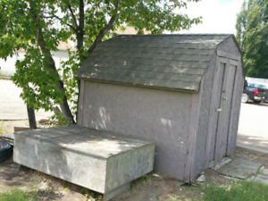 Free Hurry up  Shed for sale need to take today . 8×8