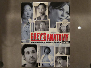 Grey's Anatomy - Season 2 Uncut DVD Set