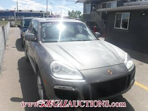 2008 PORSCHE CAYENNE BASE 4D UTILITY TURBO BASE