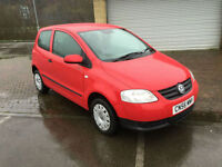 56 reg Volkswagen Fox 1.2 Urban 3 Door Bright Red