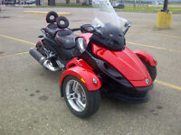 2009 CanAm Spyder RS, Mint with low miles