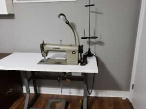 Juki Single Needle Industrial Sewing Machine.