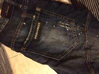 Brand new Dsquared jeans designer brand slim fit