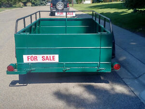 Trailer -  All Steel Frame and Box Utility Trailer