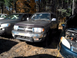 Toyota 4 Runner 2001 Parts Available (J02867)