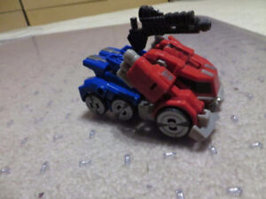 Transformers Fall of Cybertron Deluxe Optimus Prime Loose