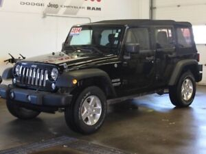 2014 Jeep Wrangler UNLIMITED SPORT!