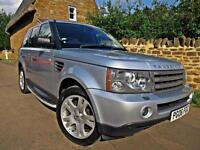 2006 RANGE ROVER SPORT 4.4 V8 AUTO HSE. ONLY 78K MILES !! P/X WELCOME !!
