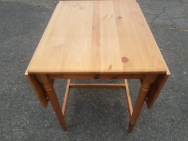 Drop leaf dining table CAN DELIVER