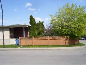 . .... BOWNESS 3 BEDROOM UPPER AND 2 BEDROOM LOWER UNIT . ..