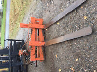FORKLIFT HYDRAULIC CARRIAGE ASSEMBLY WITH SIDE SHIFT