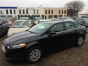 2013 FORD FUSION S, ONE YEAR WARRANTY INCLUDED, VERY CLEAN!