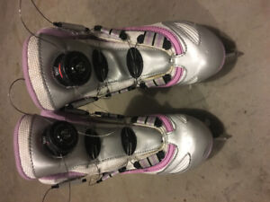 Reebok BOA wire quick-lace figure skates for girls, like new