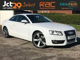 2011 61 AUDI A5 2.0 TDI SE FULL SERVICE HISTORY + FINISHED IN FROZEN WHITE WITH