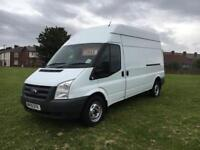 FORD TRANSIT 350 LWB HIGH ROOF ONLY DONE 81K MILES