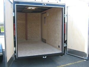 "6 x 10 + 18"" VNOSE ENCLOSED TRAILER / REAR DOORS Oakville / Halton Region Toronto (GTA) image 3"