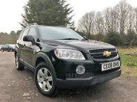 2008 08 PLATE CHEVROLET CAPTIVA 2.0CDTi ( 148BHP) LT DIESEL MANUAL JEEP IN BLACK