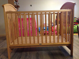 Beautiful Solid Oak Crib