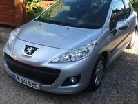 2010 10 Peugeot 207 1.4 75 Verve 40,000 miles