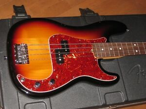 3 basses...Fender Precision, Jazz Bass USA + Ernie Ball Stingray