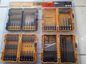 DeWalt 100 pcs Combination Tool Set with Tough Case (Brand New)
