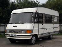 1989 HYMER B544 HYMERMOBIL, 2.5 PEUGEOT DIESEL, LEFT HAND DRIVE MOTORHOME