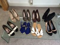 Size 3 shoes all for £25 or will split