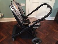 Oyster 2 push chair in silver