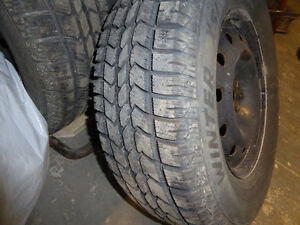 Artic Claw winter tires and rims set of 4 London Ontario image 2