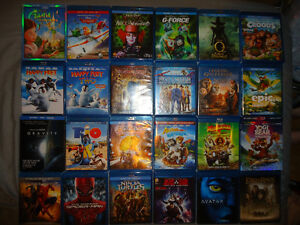 DISNEY AND OTHER BLURAYS&DVDS