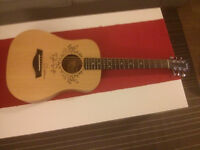 Taylor Acoustic Guitar (with Taylor Swift signature)