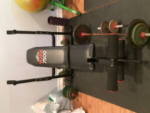 Free weights and Home Gym