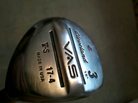 Cleveland vas driver 3 wood and 5 wood