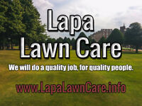Lapa Lawn Care is looking for GREAT CUSTOMERS!