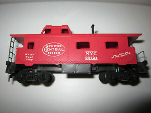 HO Scale Model Power CABOOSE RED SAFETY / electric train