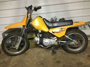 baja 50 motocross enfant semi automatique dirtbike