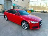 2017 17 AUDI A6 SALOON S LINE SPECIAL EDITIONS 2.0 TDI ULTRA BLACK EDITION AUTO