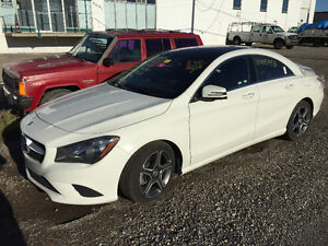 2016 Mercedes CLA 250 4Matic Sports package