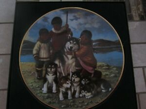 NORI PETER SIGNED COLLECTOR PLATE